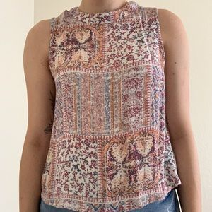 Bohemian Sleeveless Top